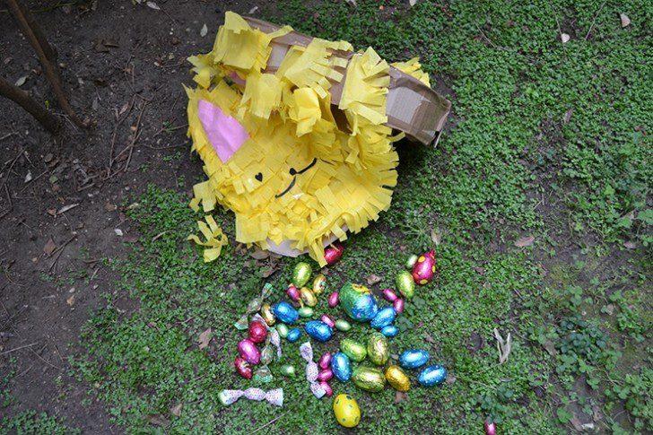 piñata de conejo dulces