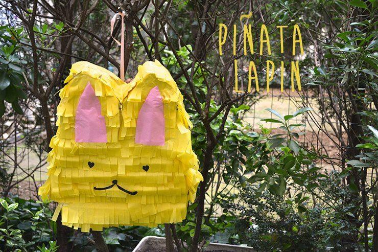 Piñata Casera de Conejo