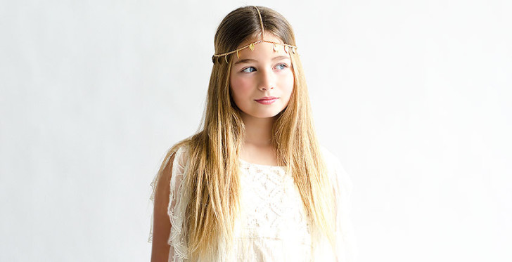 primera comunión de niñas y sus peinados