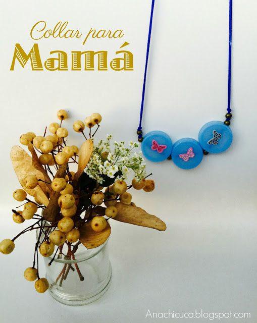 Regalos Caseros Día de la Madre: Collar de Tapones