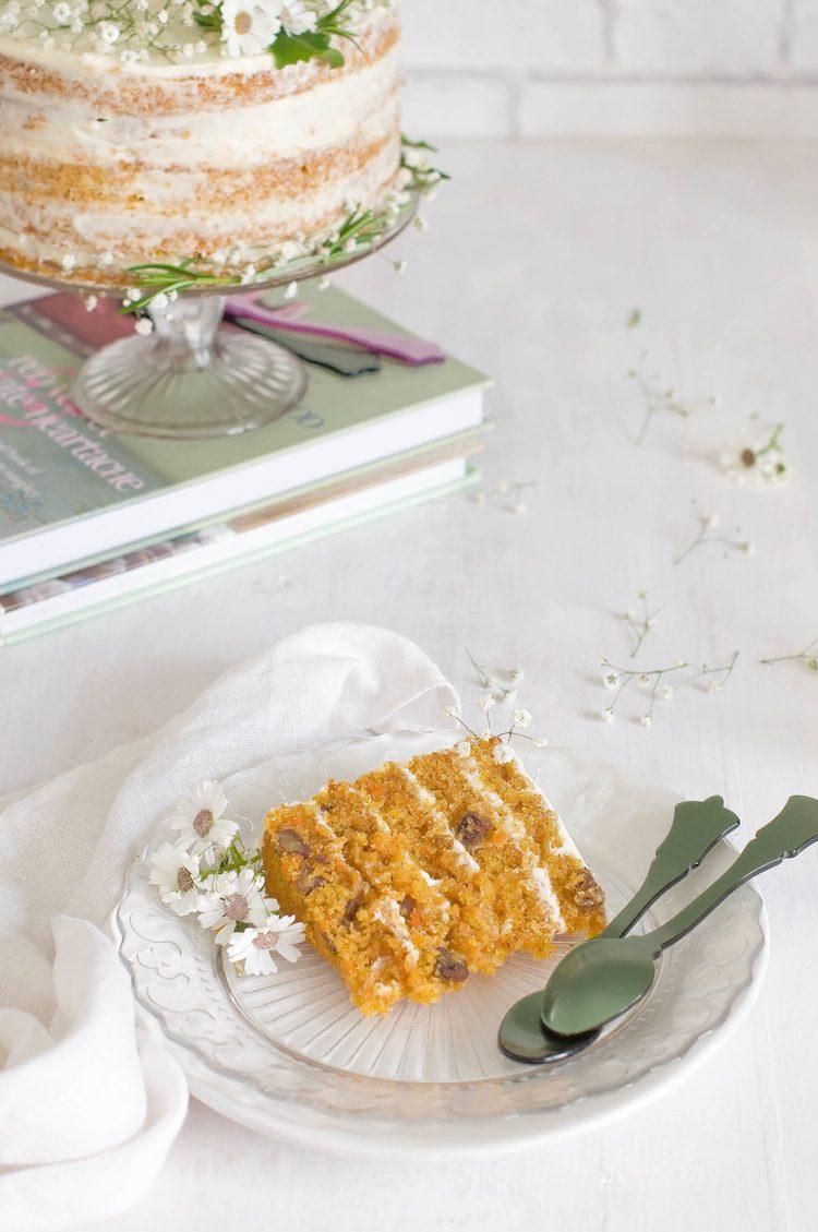 Tarta de Zanahoria para Cumpleaños