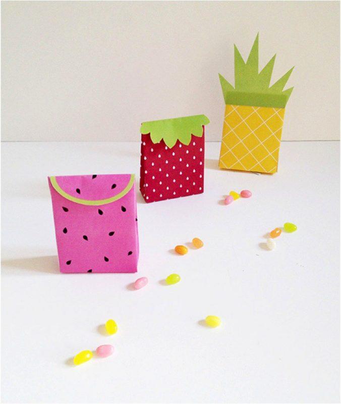 10 manualidades frutales para niños