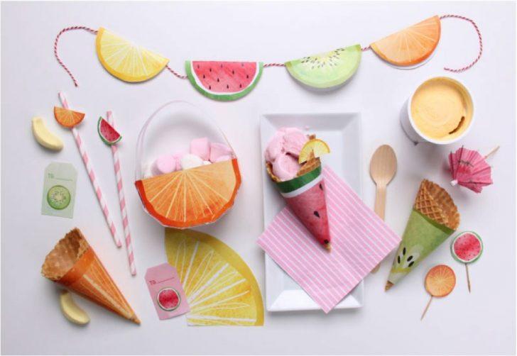 10 manualidades geniales de frutas