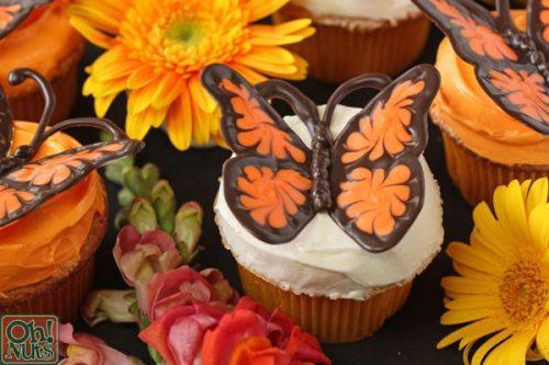 Mariposa Cupcake Detalle