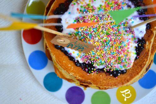 Tortitas de Pippi Calzaslargas. Postre para niños