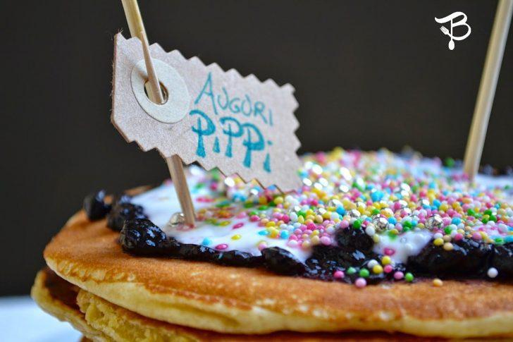 Tortitas de Pippi Calzaslargas. Postre para niños con mermelada