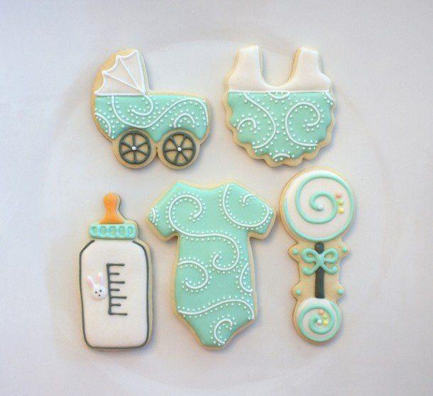 como organizar un babyshower de exito galletas