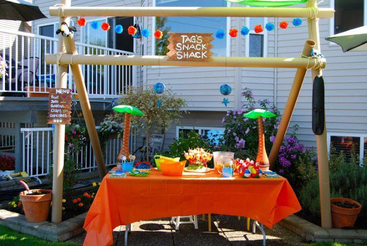 cumpleaños infantil de Phineas y Ferb decoracion
