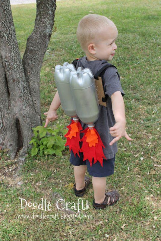 disfraces originales para el verano hombre cohete