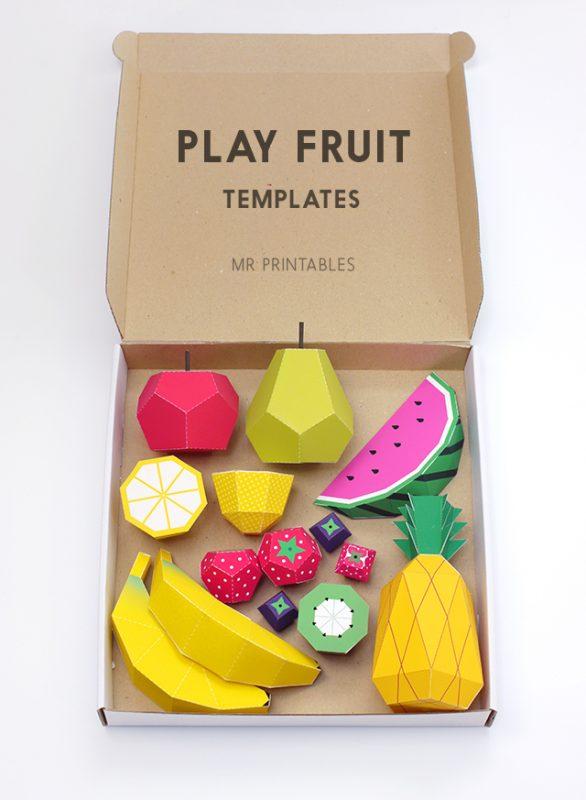 fiesta de la fruta de juguete