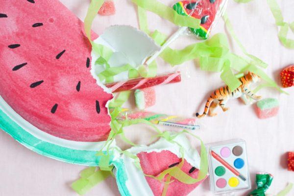 fiesta de la fruta sandia sorpresa