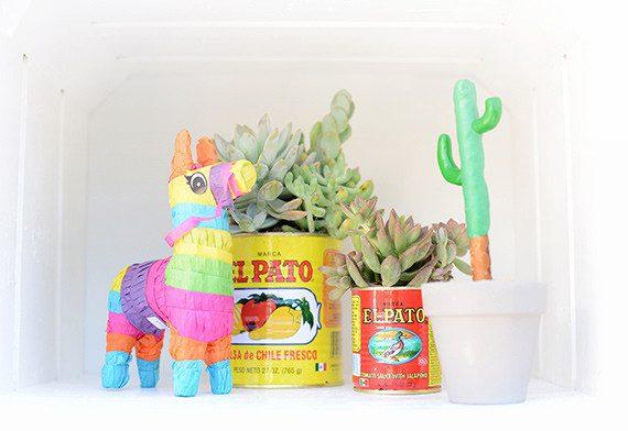 fiesta mexicana al aire libre para niños burrito