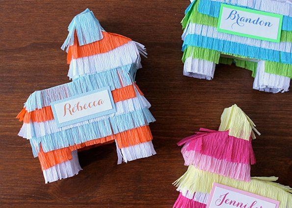 Piñatas Caseras: Burritos de Colores