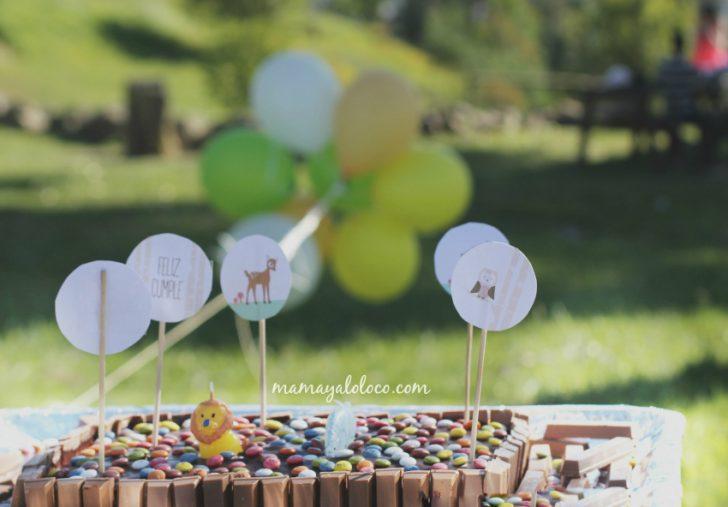 ideas para cumpleaños de niños pequeños con animales tarta de cumpleaños