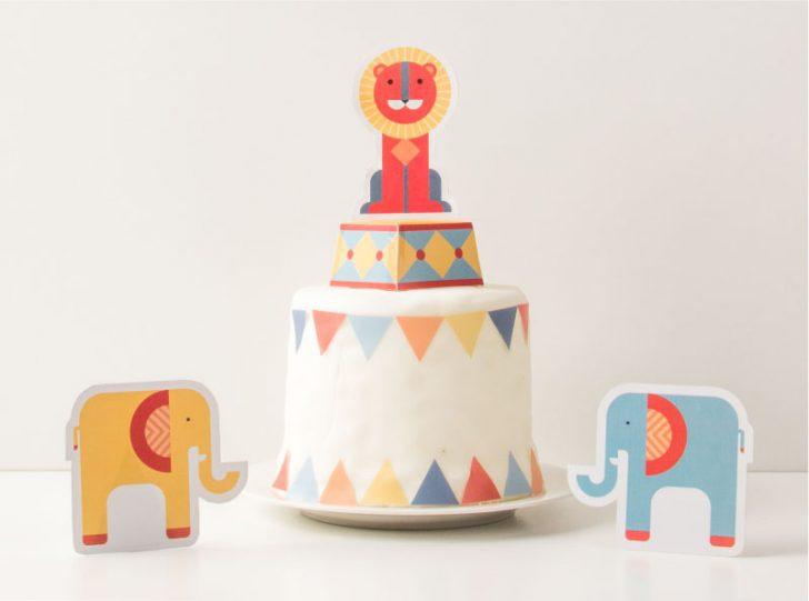 imprimible para fiesta infantil de circo
