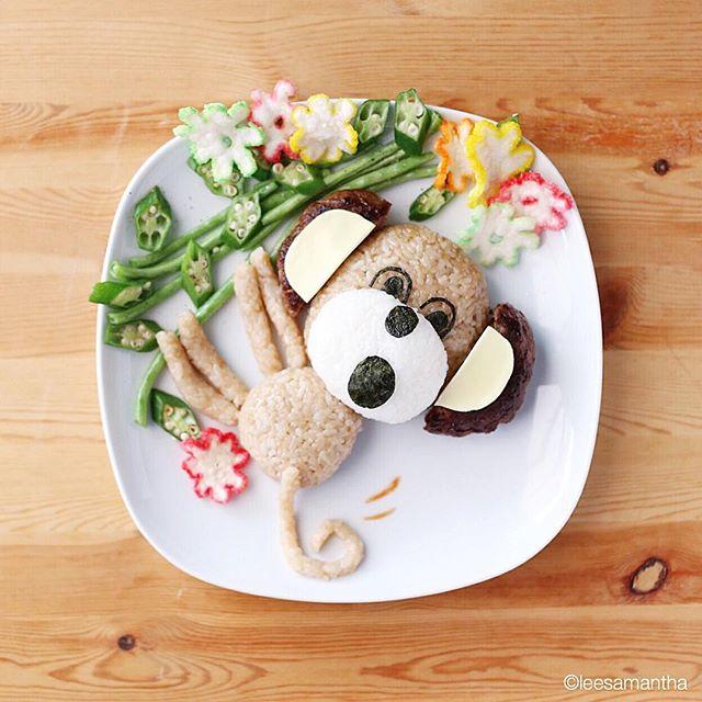 lee samantha arte comida 2