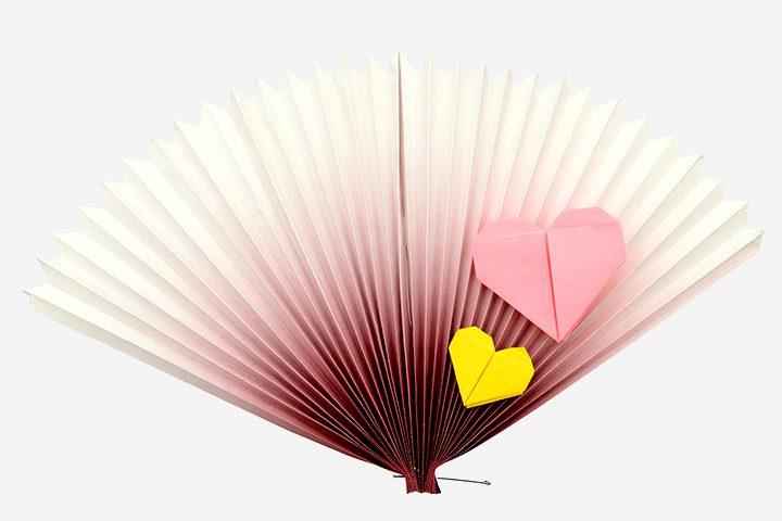 Ideas de origami para niños abanico