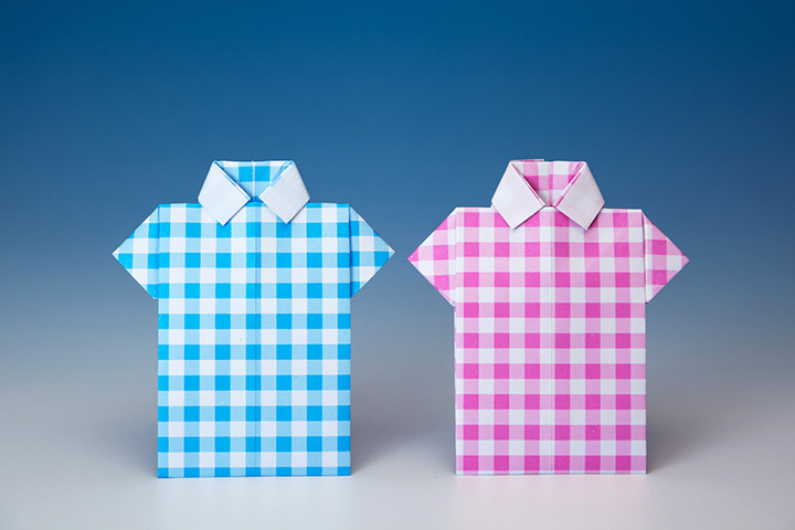 Ideas de origami para niños camisa