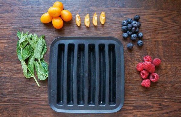 Ideas originales cubitos de Hielo. Fiesta de la Fruta refrescante