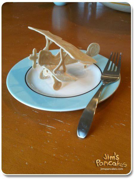 Ideas originales de Tortitas_Avion Pancake