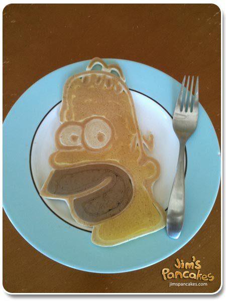 Ideas originales de Tortitas_Homer Pancake