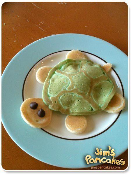 Ideas originales de Tortitas_Tortuga Pancake
