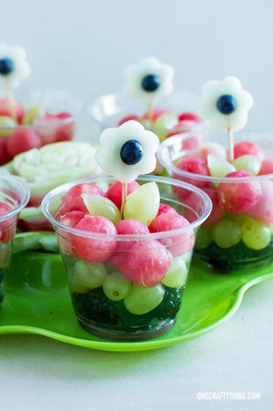 Receta Con Frutas De Verano Para Niños Fiestas Y Cumples