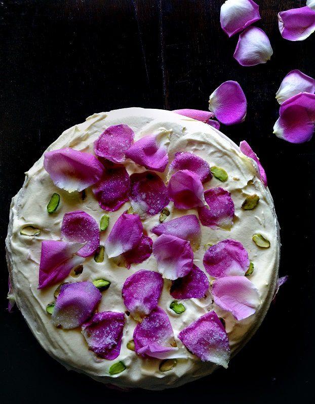 Receta de la Tarta Persa del Amor