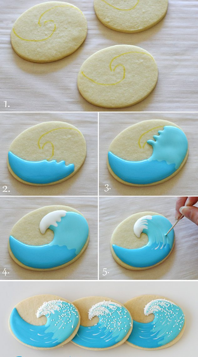 Tutorial Galleta Ola
