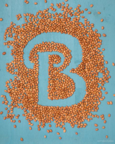 b abecedario de cocina - b