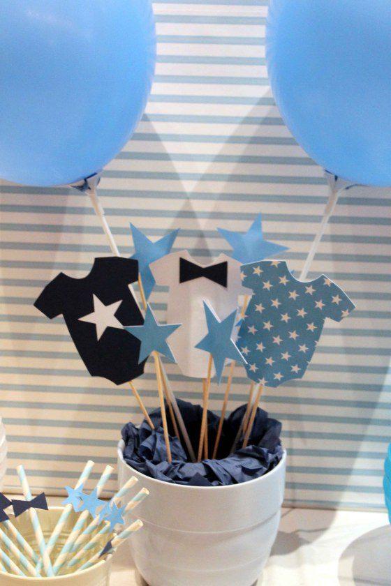 Decorar una Fiesta de Bautizo en Azul