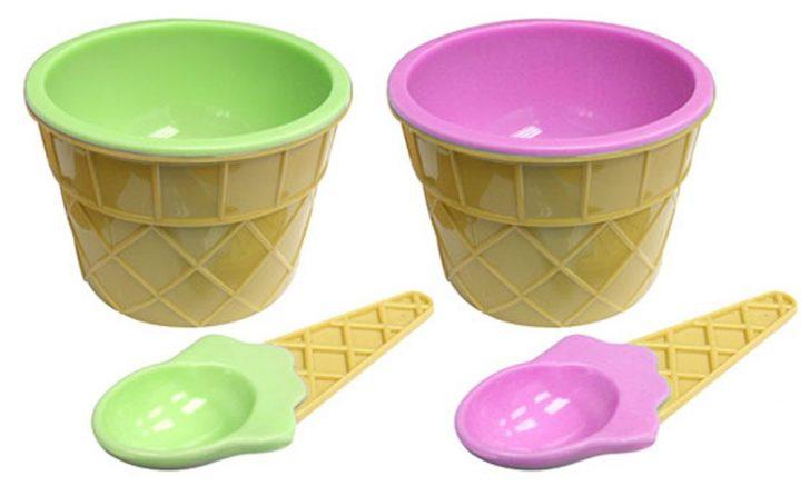 boles y recipientes para tomar helados fackelmann