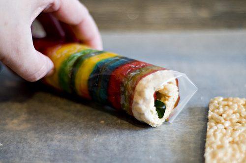 como hacer sushi con gominolas