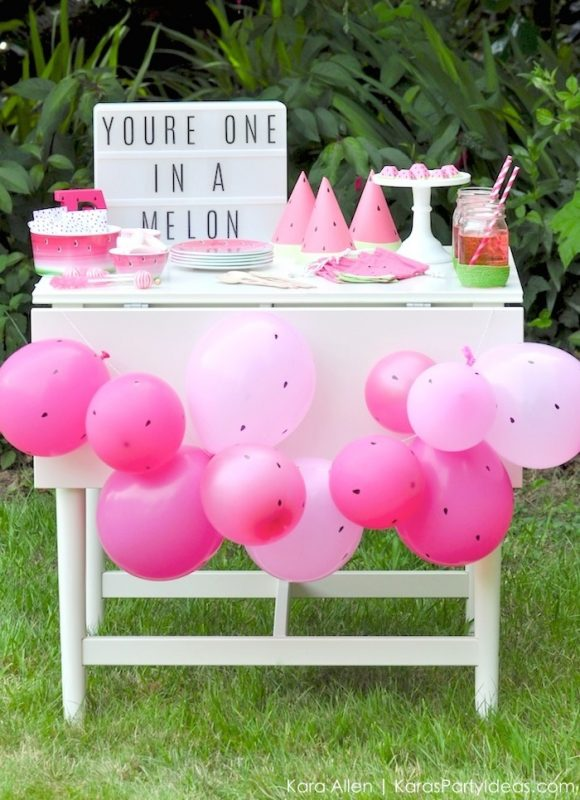 fiesta de la sandía cumpleaños original