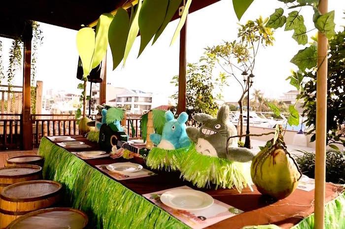 fiesta infantil de totoro tropical