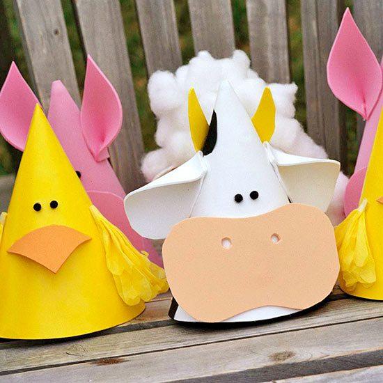 fiesta temática con disfraces de animales para niños