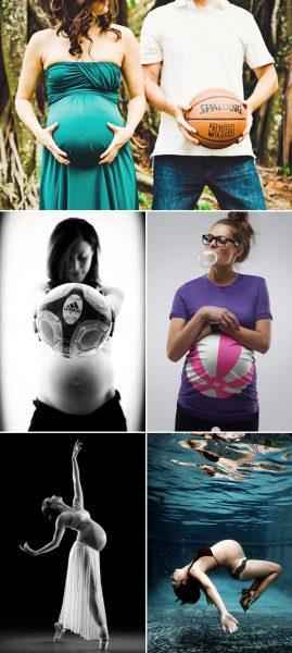 Ideas de Fotos Originales Durante el Embarazo