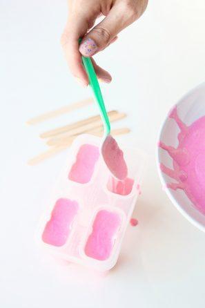 helados caseros para niños