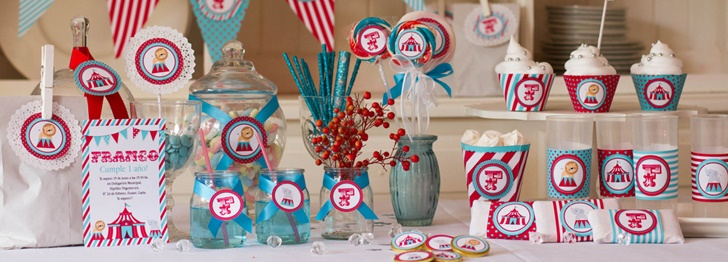 Decora tu Cumpleaños… con Kits Personalizados para Fiestas