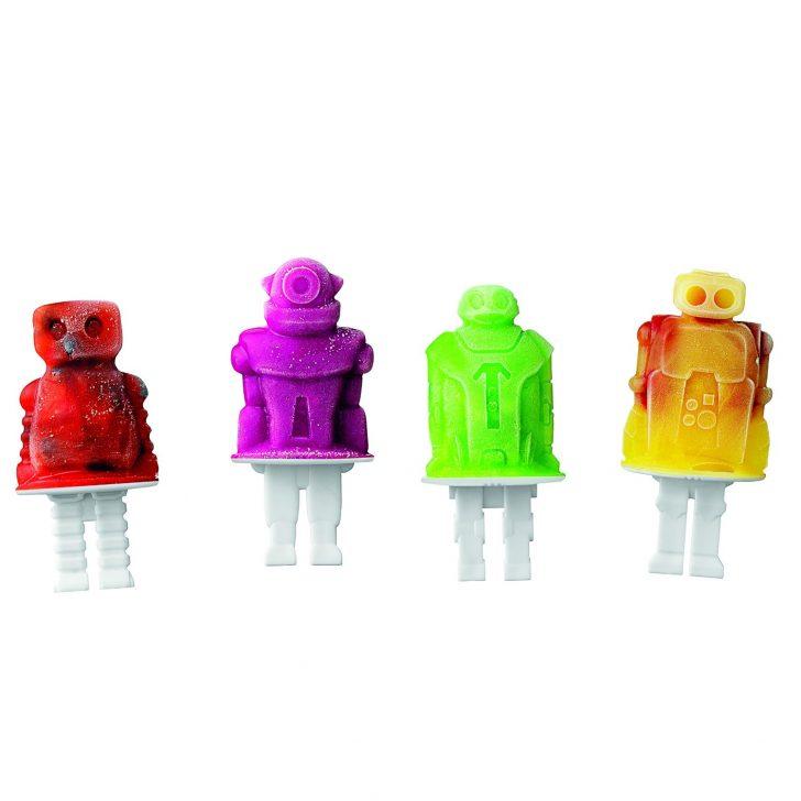 molde para helados robotos