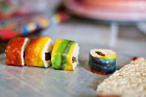 sushi chuches para niños
