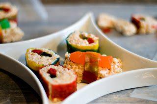 Sushi de Gominolas y Cererales para Niños