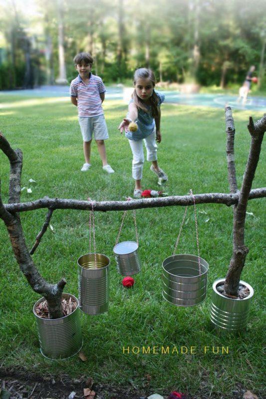 15 ideas para jugar en el jardín con los peaues