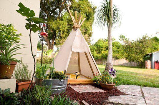 15 ideas para niños aire libre jardín