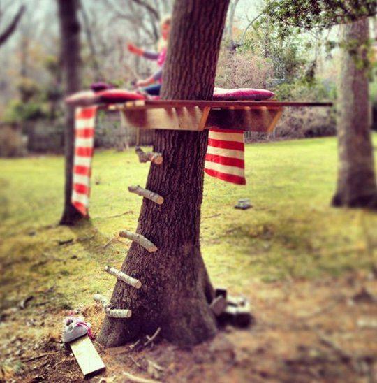 15 maneras de decorar un jardín para jugar
