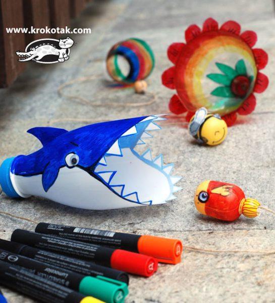 4 juguetes para la playa que podemos hacer en casa tiburón