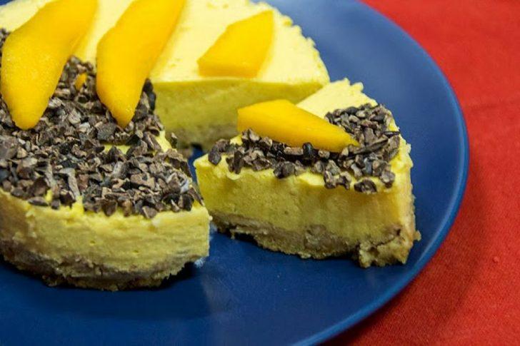 7 tartas frías que no necesitan horno - mango