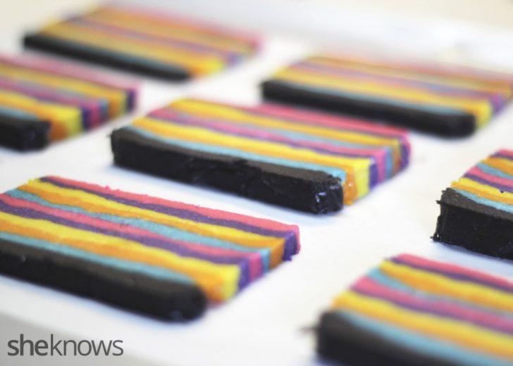 Laminas multicolor para Galletas Piñata para hornear