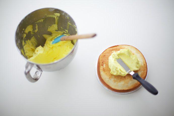 Receta de Tarta para niños. LaTarta Sol Kawaii_Paso 1