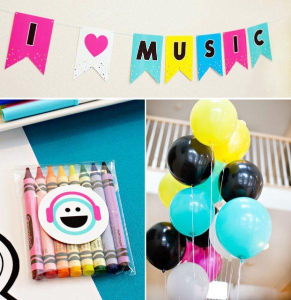 fiesta infantil de musica para niños